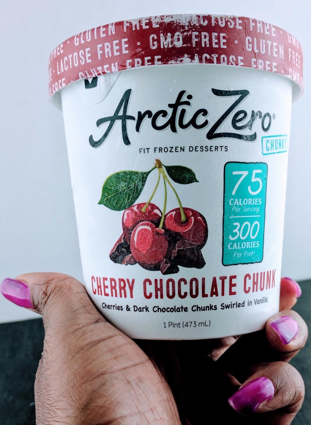 Cherry Chocolate Chunk Arctic Zero   PhzUniqueDiva